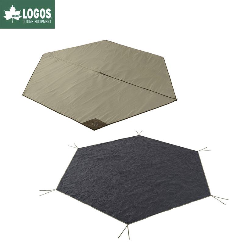 LOGOS ロゴス キャンプ Tepee マット&シート350 テントシート テントマット セット