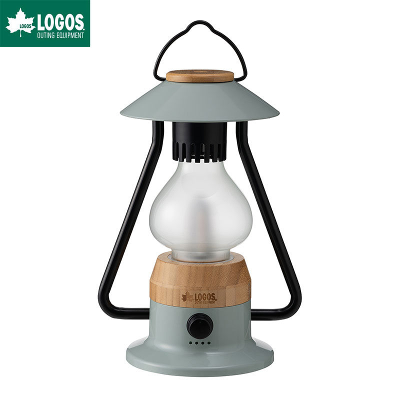LOGOS ロゴス Bamboo モダーン ランタン LED 充電 充電式