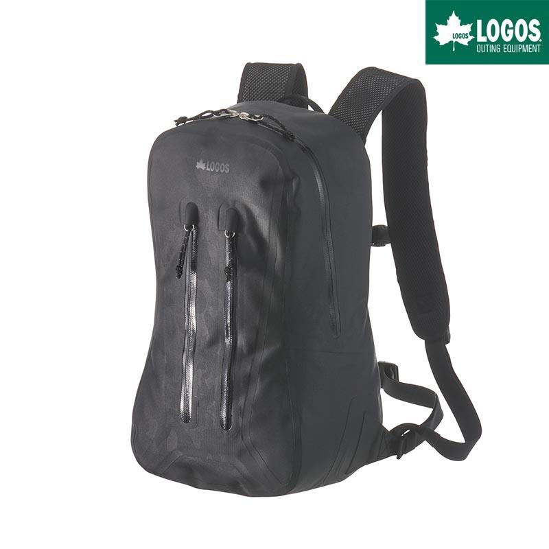 LOGOS ロゴス SPLASH mobi ザック 17L バックパック 防水 ブラックカモ