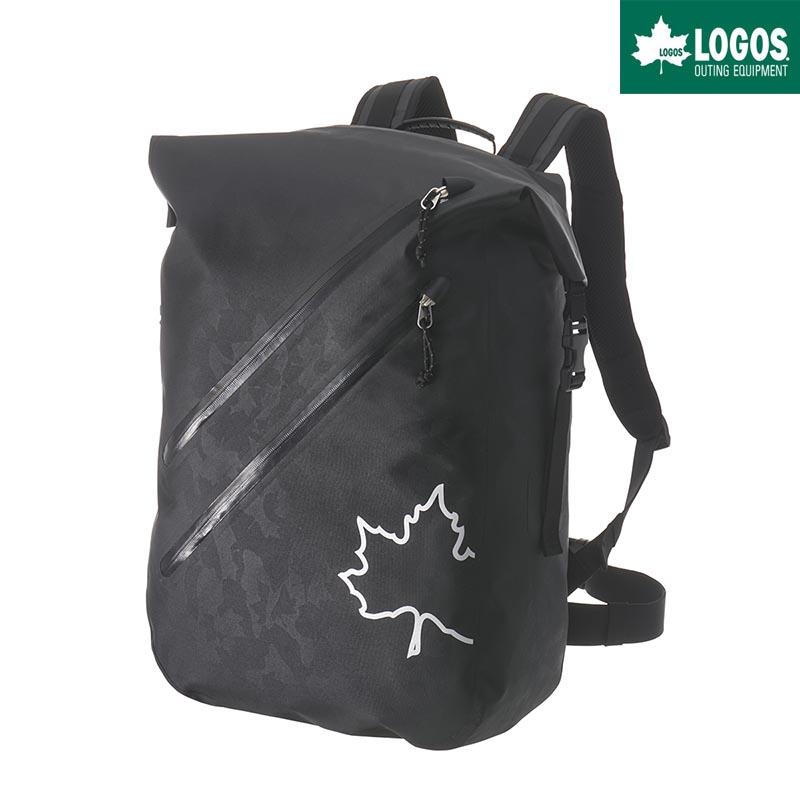LOGOS ロゴス SPLASH mobi ダッフル リュック 30L バックパック 防水 ブラックカモ