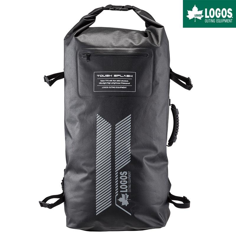 LOGOS ロゴス ADVEL SPLASH ビッグダッフルリュック 54L バックパック 防水 ブラック 黒