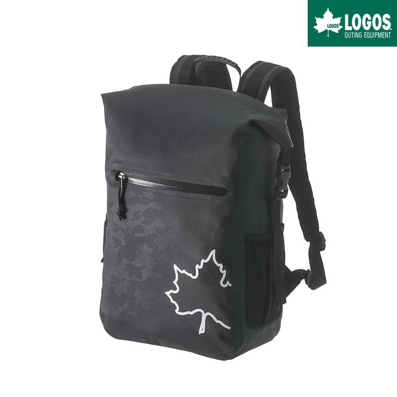 LOGOS ロゴス SPLASH mobi スモール ダッフル リュック 25L バックパック 防水 ブラックカモ