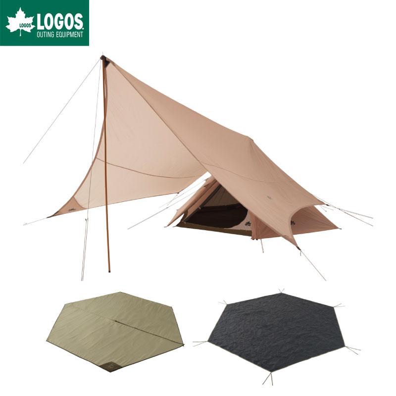 【再入荷!!】LOGOS テントセット 6人用 テント 大型 Trad ティピータープ350-BJ チャレンジ セット キャンプ ティーピーテント タープテント