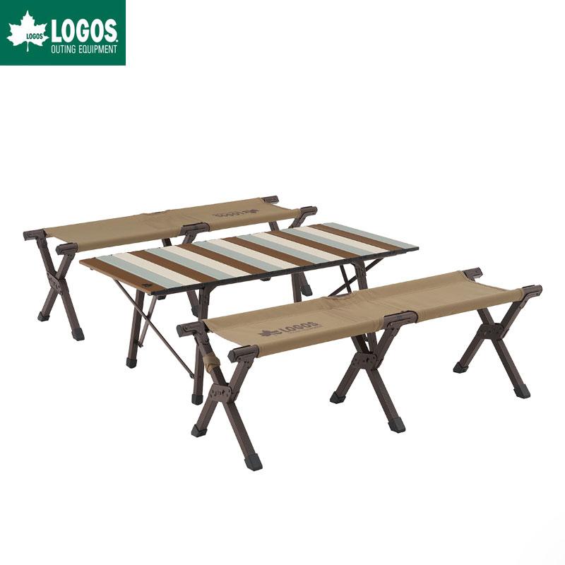 LOGOS ロゴス Life キャリーオンテーブルセット4(ヴィンテージ)