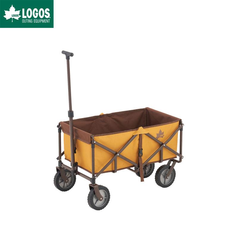 四輪 ロゴス パンプキンカート LOGOS 折りたたみ キャリーカート 2020 LIMITED 丸洗い アウトドア