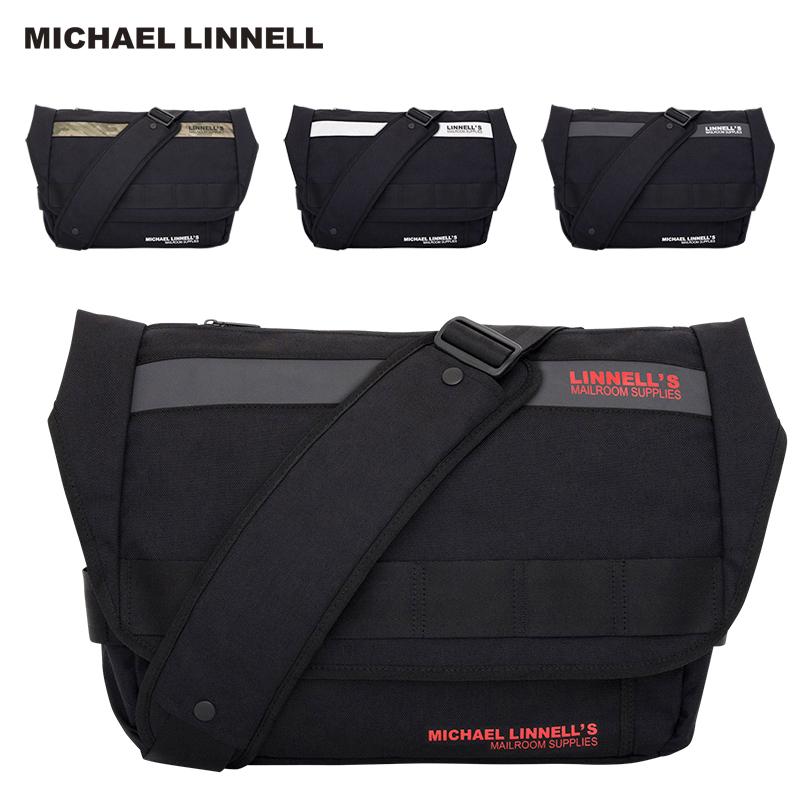 MICHAEL LINNELL マイケルリンネル Messenger メッセンジャー バッグ 鞄 15L メンズ レディース MLCD-200