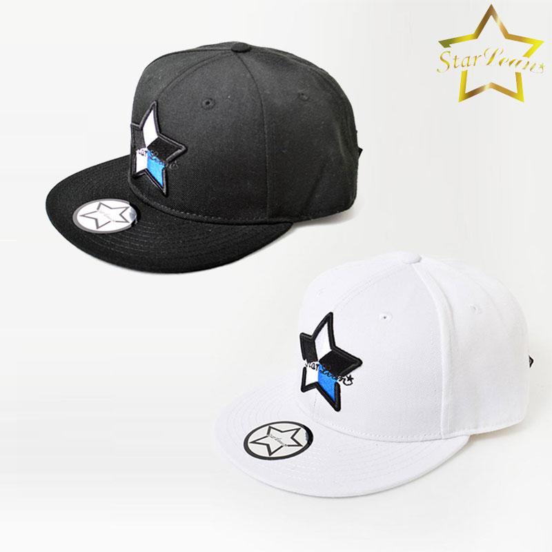 c3a3de55c54 Star re-Ann StarLean 5 parts embroidery baseball cap men gap Dis star black  and white