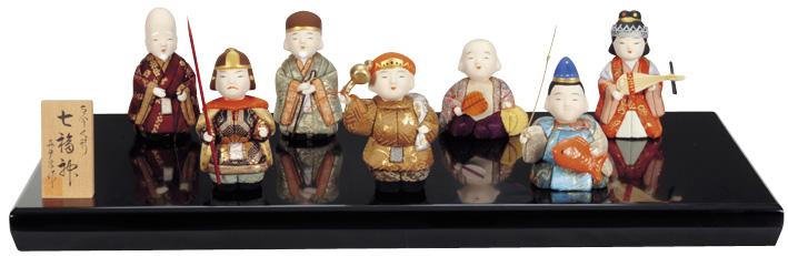 福々しい顔で呼び込む いっぱいの福 祝い人形 入荷予定 七福神 真多呂作 おしゃれ 別倉庫からの配送