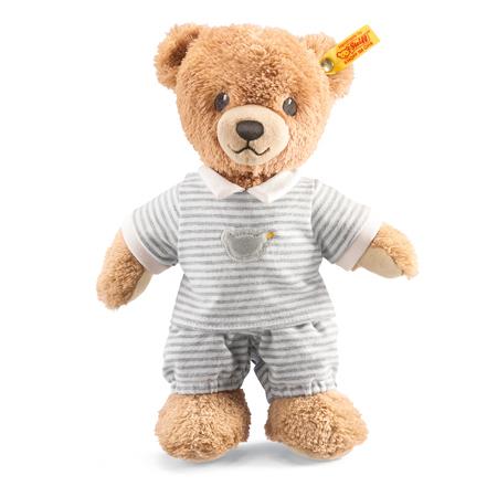 【シュタイフ steiff】シュタイフ社製おやすみクマちゃん グレー 25cm