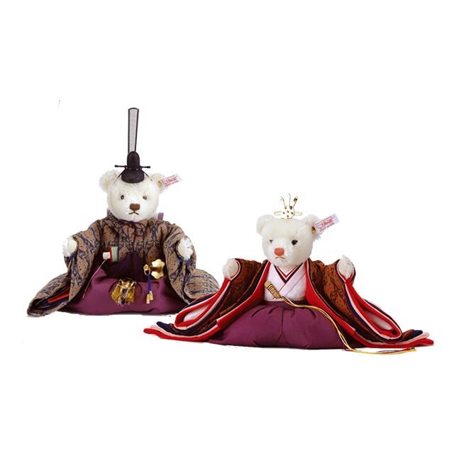 雛人形 おしゃれ シュタイフ ひな人形 人形単品龍村織 限定品No.2