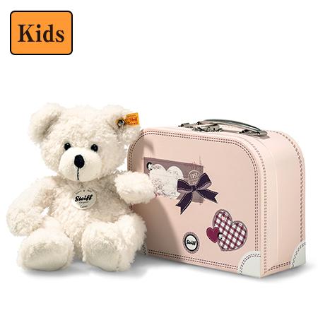 【シュタイフ steiff】シュタイフ社製テディベア ロッテ スーツケース(ピンク)