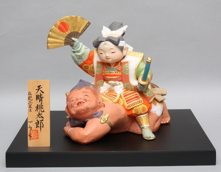 博多人形 天晴桃太郎