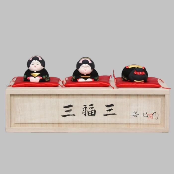 博多人形 三福三(さんぷくさん) お福さん
