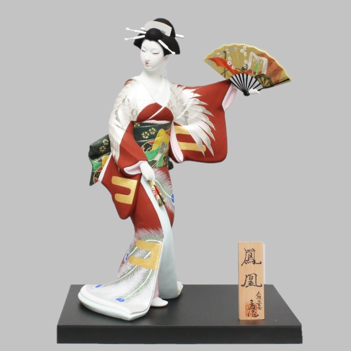 博多人形 鳳凰
