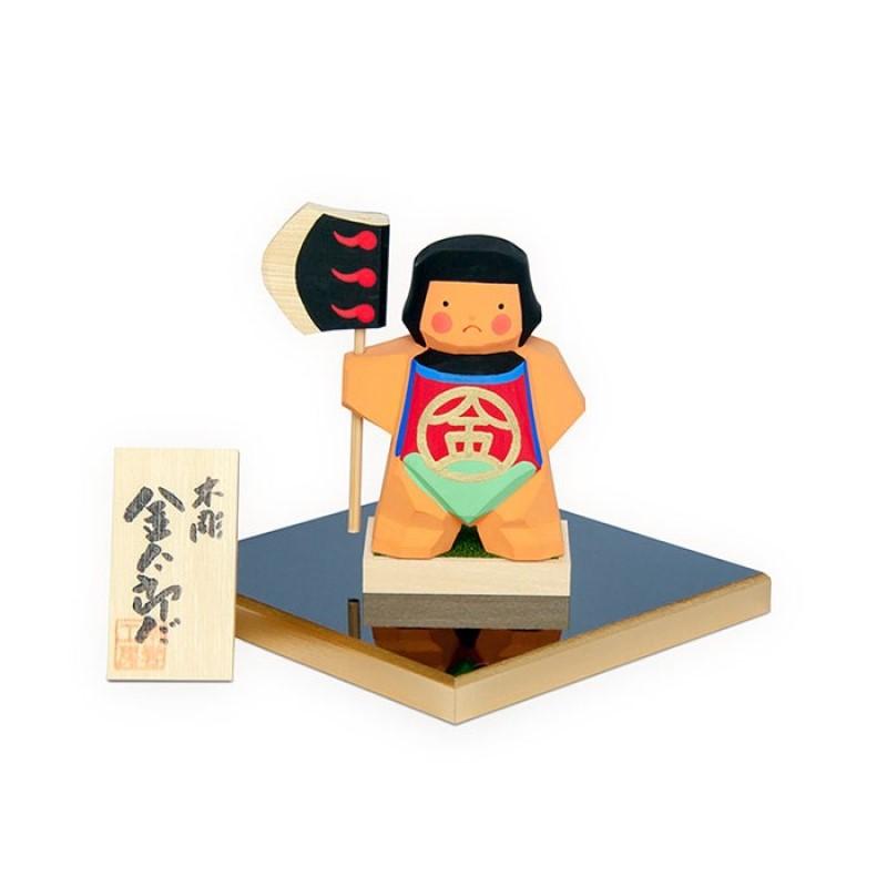 端午の節句 ●手数料無料!! 一刀彫 手作り 木製のお人形 南雲 おしゃれ 五月人形 新着 金太郎だ