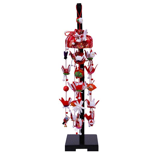雛人形 ひな人形 つるし飾り つるし雛 スタンド 飾り台 吊るし飾り 祝い鶴 小サイズ