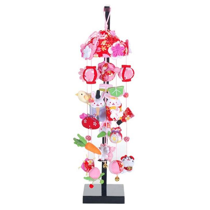 つるし雛 スタンド 飾り台 つるし飾り 雛人形吊るし飾り ころりんうさぎ雛 特小サイズ