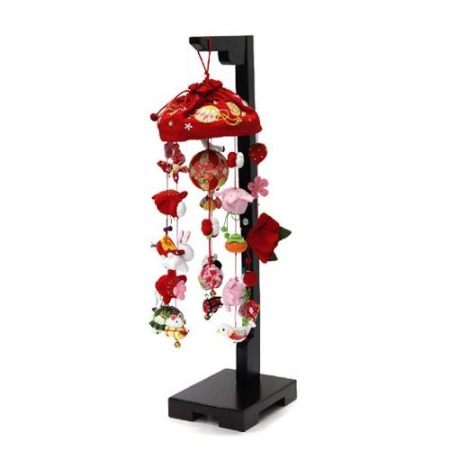 雛人形 ひな人形 つるし飾り つるし雛 スタンド 飾り台 寿慶 吊るし飾り 花ミレイ 小サイズ おしゃれ
