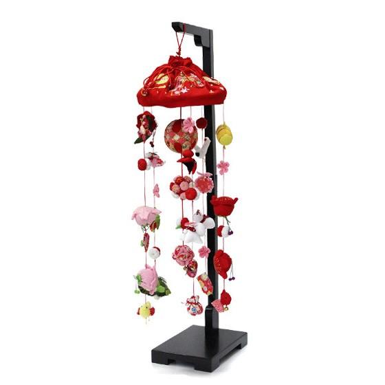 【10/31まで!カード限定エントリーでポイント最大12倍】つるし雛 スタンド 飾り台 つるし飾り 雛人形寿慶 吊るし飾り 花ミレイ 中サイズ