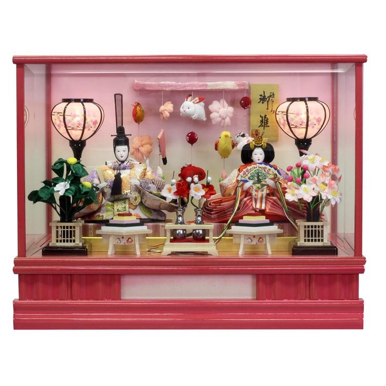 色々な ひな人形 小さい かわいい ひな人形 雛人形ケース飾り 美咲・ピンク ケース送料無料寿慶 美咲・ピンク かわいい ピンクケース飾り, ふじたクッキング:201f2757 --- canoncity.azurewebsites.net