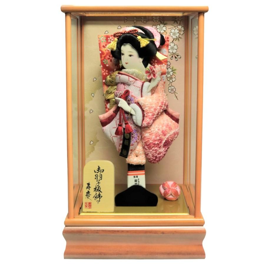 羽子板 初正月 羽子板 10号 小桜 ガラスケース おしゃれ