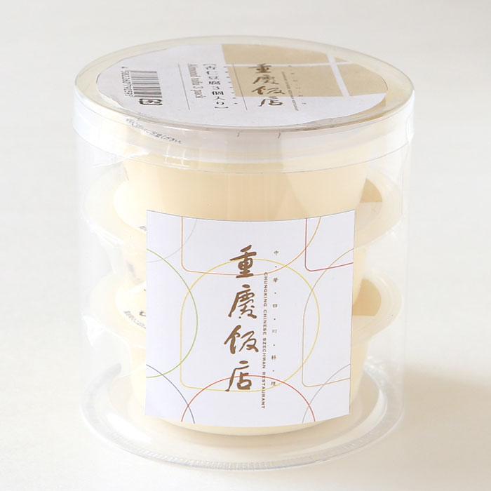 重慶飯店 杏仁豆腐 3個入 横浜中華街