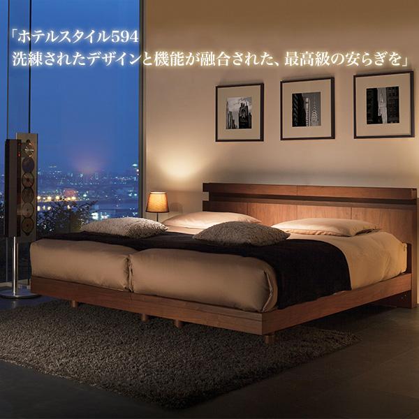 超歓迎 ドリームベッド dreambed | | ホテルスタイル594C ベッドフレーム dreambed 洗練されたデザインと機能が融合 照明・コンセント付 高さ2段段階調節 シングルサイズ ステーションタイプ, ナチュラルワン(ケージ ゲージ):2c116e55 --- canoncity.azurewebsites.net