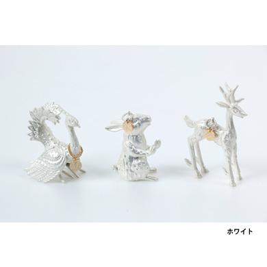 KANAYA カナヤ   アニマルチャーム SO+51 ラビット/ディア/バード ホワイト