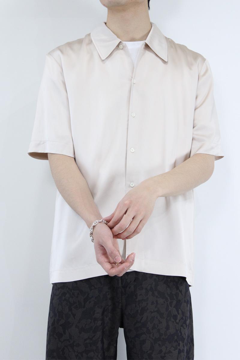 【SALE】【メンズ新品】【送料無料】SEFR (セファ) SUNEHAM SHIRT 半袖 オープンカラーシャツ GOLDEN ROSE  [NEW]