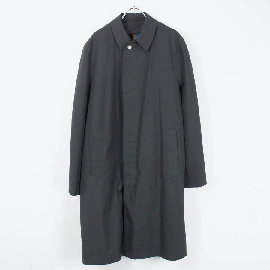 【中古】【送料無料】(KA) TOWNCRAFT(タウンクラフト) 70'S BALMACAAN COAT 70年代 バルマカン コート BLACK [SIZE: M相当 USED]