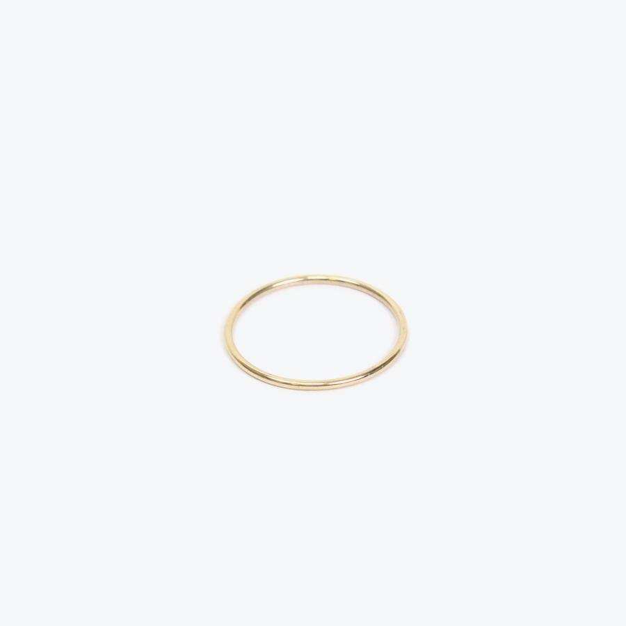【レディース新品】【送料無料】GABRIELA ARTIGAS (ガブリエラ アルティガス) SUBTLE BAND RING サス バンド リング 14K ROSE GOLD 14金ローズゴールド