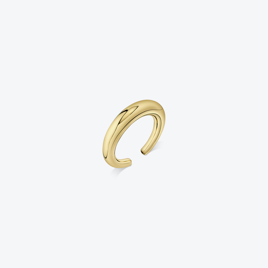 【レディース新品】【送料無料】GABRIELA ARTIGAS (ガブリエラ アルティガス) COLMILLO EAR CUFF コルミロ イヤー カフー YELLOW GOLD PLATE