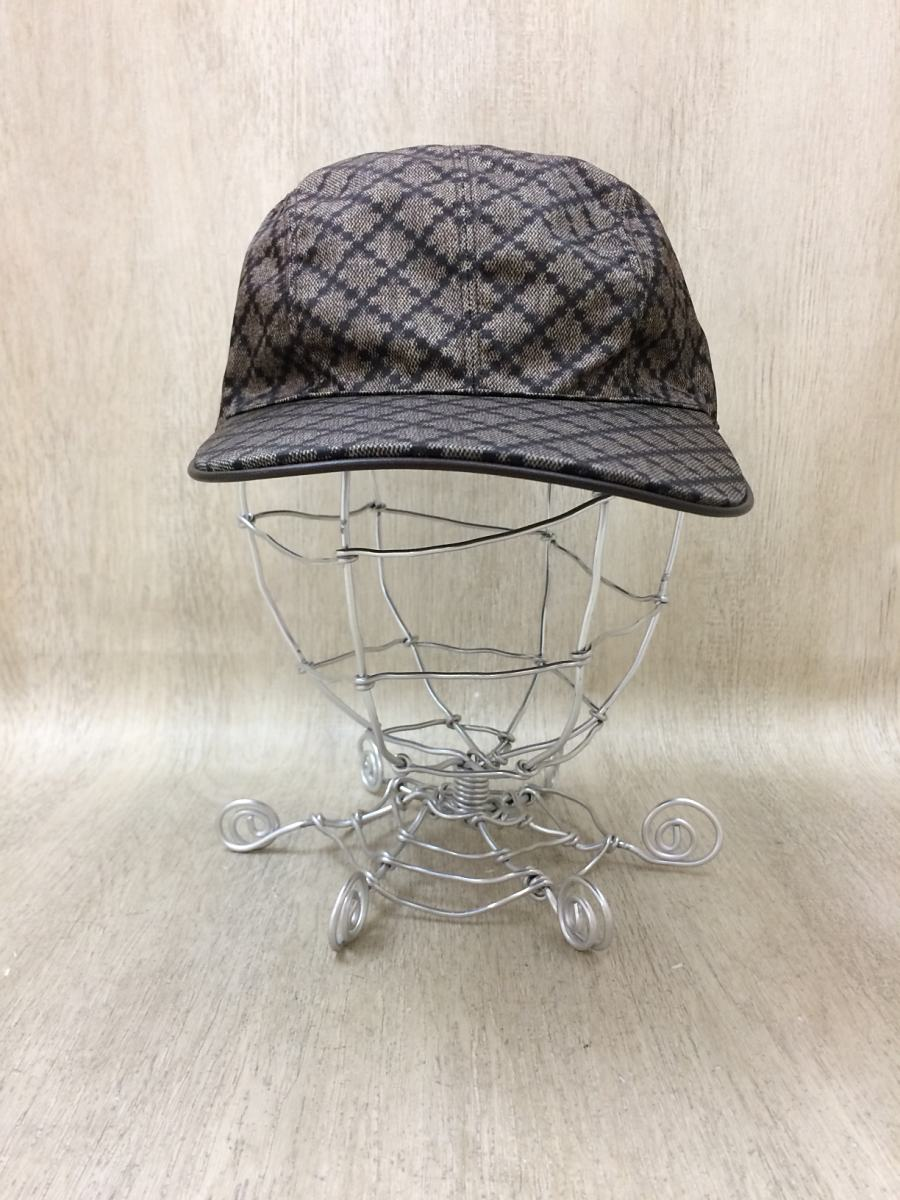 【中古】GUCCI◆268897 Diamante Unisex Baseball Cap Hat/【服飾雑貨他】