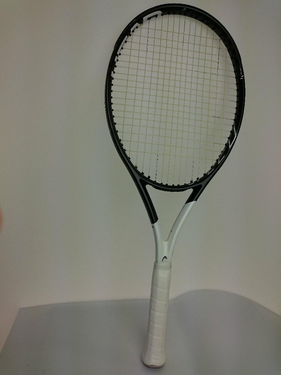 【中古】HEAD◆テニスラケット/硬式ラケット/WHT【スポーツ】