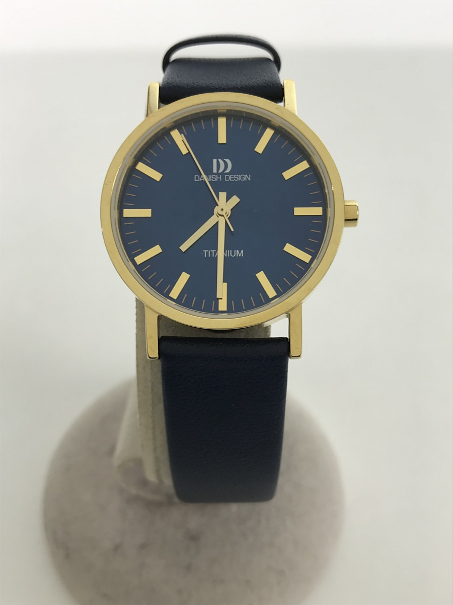 TID Watches/クォーツ腕時計/アナログ/GRY/GRY【中古】【服飾雑貨他】