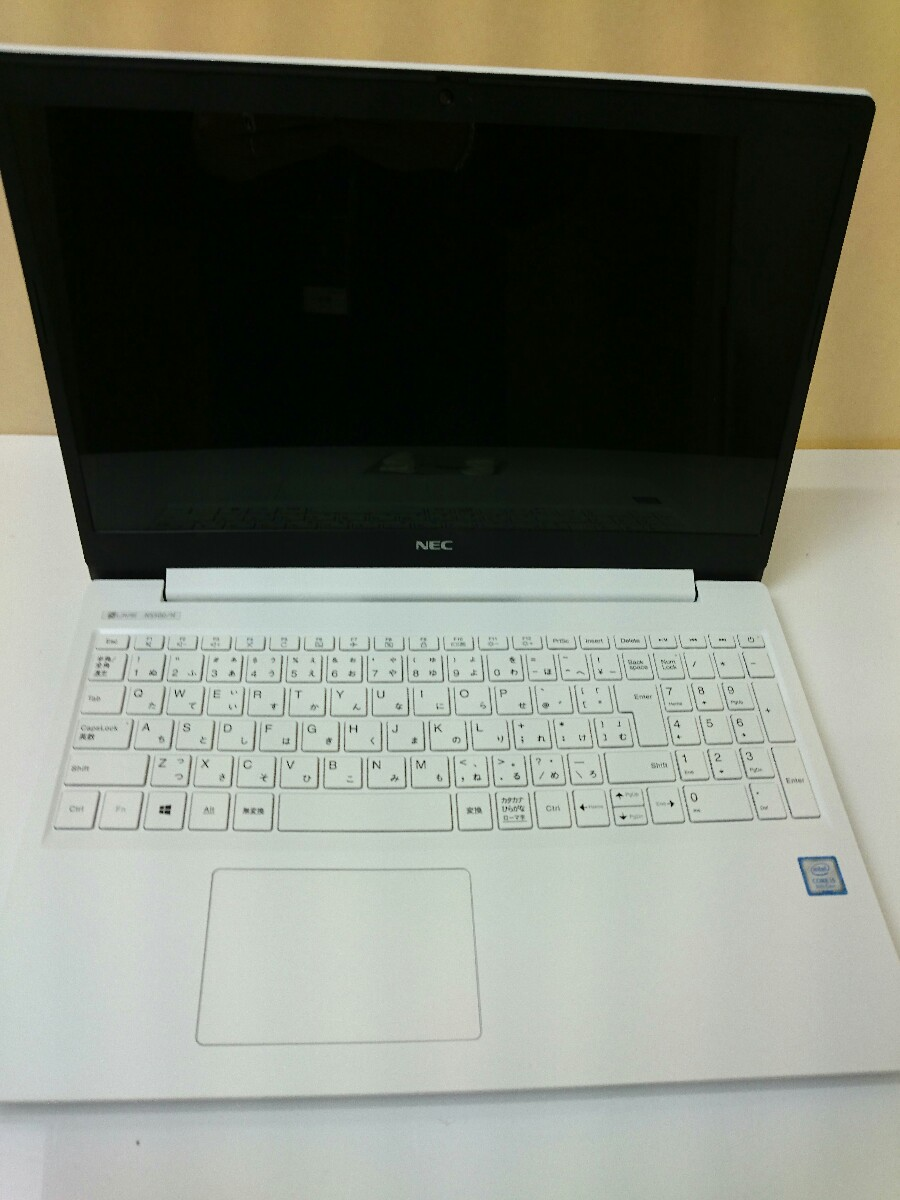 【中古】NEC◆ノートPC/第8Corei5/8GB/SSD512GB/2018/PC-NS500NAW-JJ【パソコン】