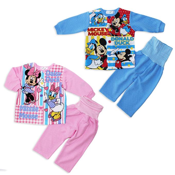 6037e0afe jumpfamily   Nit child Disney stomach band long sleeve Pajama