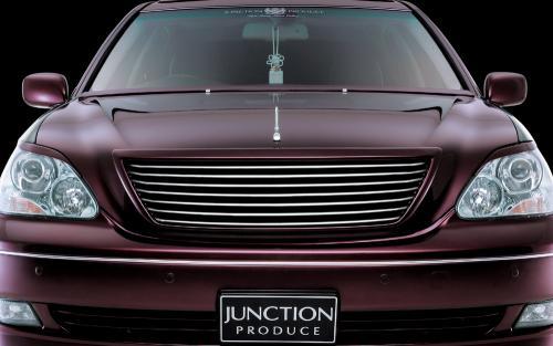ジャンクションプロデュース JUNCTION PRODUCE CELSIOR UCF30/31後期 エアロキット【グリルカバー】エアロキット セルシオ 車 カーパーツ 通販 カー用品 カスタムパーツ エアロ junction produce 10P12Oct14