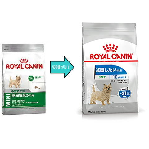 春の新作続々 減量したい小型犬のための特別な栄養バランスに配慮したフードです ロイヤルカナン ミニライトウェイトケア 減量したい犬用 800g 生後10ヵ月齢以上 お一人様5点限りお試しサイズ ついに入荷