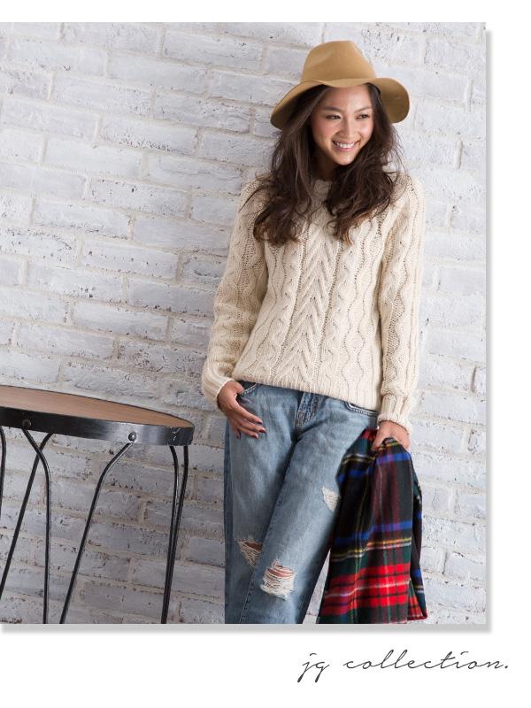 淑女帽子羊毛 100%领宽 JG 集合领宽帽子黑 / 坯布和米色