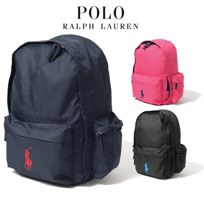 POLO RALPH LAUREN Backpack Backpack Classic Pony Backpack Large Polo backpack bag large commuter school same day shipping