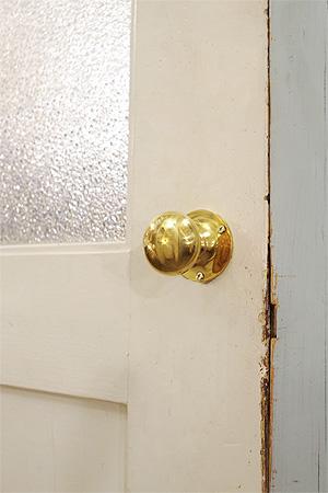 【ドアノブ 真鍮 ハンドル 取っ手 ブラス アンティーク調 アンティーク風】レトン ドアノブサークル
