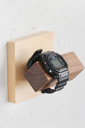 【腕時計 収納 壁掛け 木製 おしゃれ 石膏ボード用 アンティーク調 アンティーク風】MUKU タイル 腕時計ホルダー