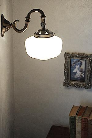 【ブラケットライト ブラケット 照明 壁付 ガラス 電球セット LED対応 バー カフェ ショップ アンティーク調 アンティーク風】オールドセンチュリー ブラケット