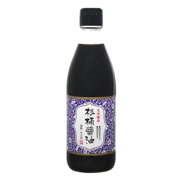 杉桶でじっくり熟成 しょう油 返品不可 醤油 マルシマ 360ml 天然醸造杉桶醤油 低価格化 丸島醤油 濃口