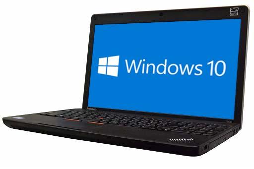 【中古パソコン】【Windows10 64bit搭載】【HDMI端子搭載】【テンキー付】【Core i3搭載】【メモリー4GB搭載】【HDD320GB搭載】【W-LAN搭載】【DVDマルチ搭載】 lenovo ThinkPad Edge E530 (178300)