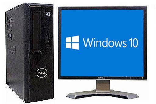 【中古パソコン】【液晶セット】【Windows10 搭載】【Core2Duo搭載】【メモリー4GB搭載】【HDD250GB搭載】 DELL VOSTRO 230 (1290020)