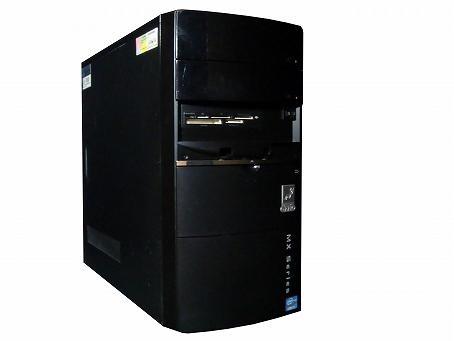 【中古パソコン】【単体】【Windows10 64bit搭載】【Core i3 3220搭載】【メモリー4GB搭載】【HDD500GB搭載】【DVDマルチ搭載】【東久留米発】 OZZIO MXA233250SDS2 (7517565)