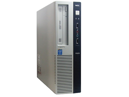 【中古パソコン】【単体】【Windows10 64bit搭載】【Core i5 4570搭載】【メモリー4GB搭載】【HDD1TB搭載】【DVDマルチ搭載】【東久留米発】 NEC Mate J ML-H (7518676)