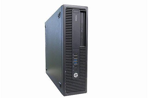 【中古パソコン】【単体】【Windows10 Pro 64bit搭載】【Core i5 6500搭載】【メモリー4GB搭載】【HDD2TB搭載】【DVDマルチ搭載】 HP EliteDesk 800 G2 SFF(1250150)